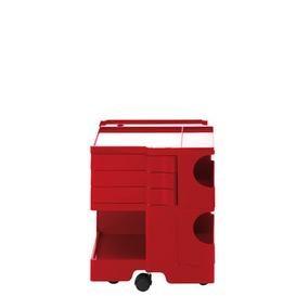 image-Boby Dresser - H 52 cm - 3 drawers by B-LINE Red