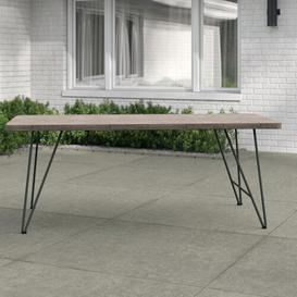 image-Worden Teak Dining Table Sol 72 Outdoor