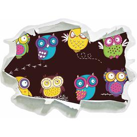 image-Crazy Owls for Children Wall Sticker East Urban Home