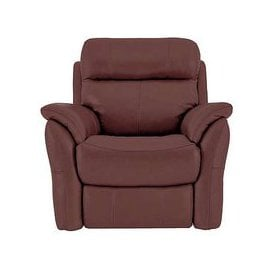 image-Relax Station Revive Leather Manual Recliner Armchair- World of Leather