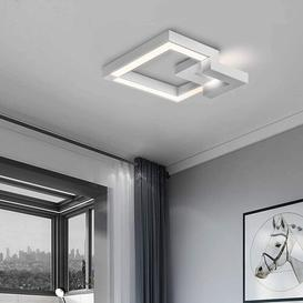 image-Mccleery 1-Light LED Flush Mount Ebern Designs