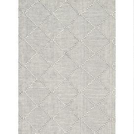 image-Zala Slate Rug - 170 x 240 cm / Grey / Recycled Plastic Bottles