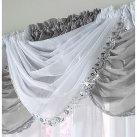 image-Axton 56cm Curtain Pelmet Willa Arlo Interiors Colour: White