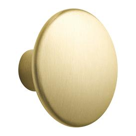 image-Muuto - The Dots Metal Coat Hook - Large - Brass