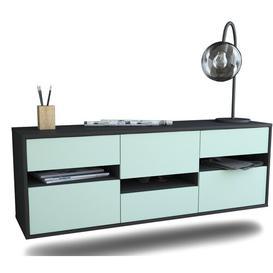 image-Garraway TV Stand Ebern Designs Colour: Light Blue