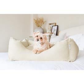 image-Sophie Bed Oatmeal Linen Small