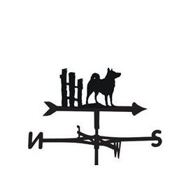 image-Weathervane in Elkhound Design - Large (Traditional)
