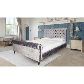 image-Victoria Upholstered Bed Frame
