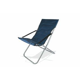 image-Ikra Sun Lounger Sol 72 Outdoor Colour: Blue