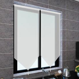 image-Sheer Kitchen Curtain Symple Stuff