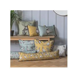image-All Over Pheasant Draught Excluder Ochre