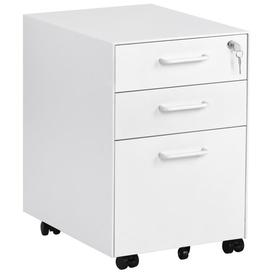 image-Mcbroom 3 Drawer Filing Cabinet Rebrilliant Colour: Pearl white