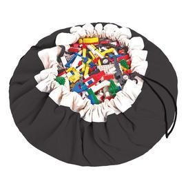 image-Classic Grey Play Mat Bag