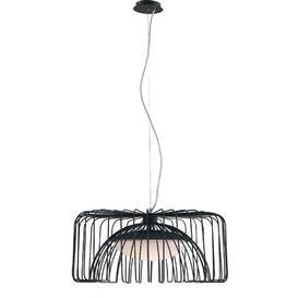 image-Cougar 1-Light LED Novelty Pendant Corrigan Studio Finish: Black