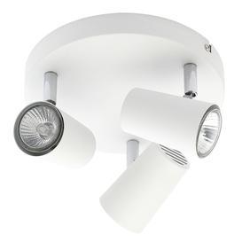 image-Chobham 3 Light Adjustable Ceiling Spotlight Plate - White