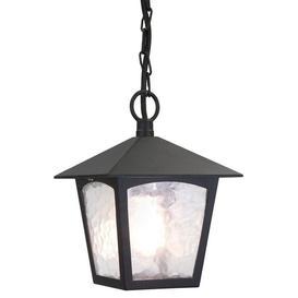 image-Elstead BL6B York exterior, black hanging porch lantern, IP20