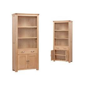 image-Treviso Oak Tall Bookcase