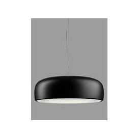 image-Flos Smithfield Suspension Ceiling Light, Glossy Black