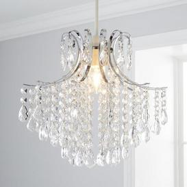 image-Sheridan Jewel Easy Fit Pendant Chrome