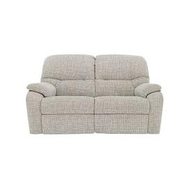 image-G Plan - Mistral 2 Seater Fabric Recliner Sofa - Beige