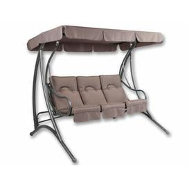 image-Rio Swing Seat with Stand Freeport Park Colour: Brown