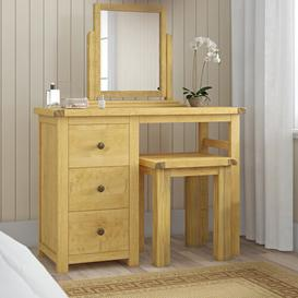 image-Dressing Table Set with Mirror August Grove
