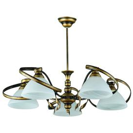 image-Gary 5-Light Shaded Chandelier Ophelia & Co.