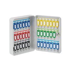 image-Securikey Keystor 42 Key Cabinet, Light Grey