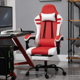 image-Jeffry Gaming Chair Ebern Designs Upholstery Colour: Red