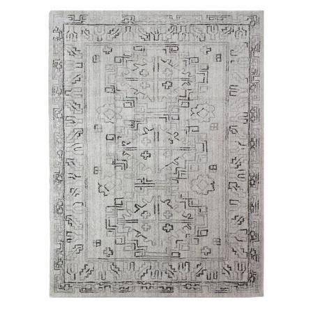 image-Dorma Beige Traditional Viscose Rug Natural