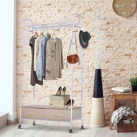 image-47cm Wide Clothes Rail Symple Stuff