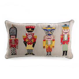 image-MacKenzie-Childs - Nutcracker Brigade Lumbar Pillow