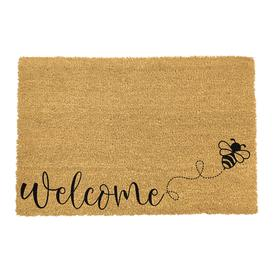 image-Artsy Doormats - Welcome Bee Door Mat