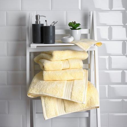 image-Lemon Egyptian Cotton Towel Lemon (Yellow)