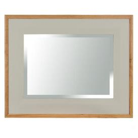 image-Vancouver Expressions French Grey Furniture Rectangular Mirror