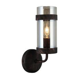 image-Dartee 1-Light Candle Wall Light Rosalind Wheeler Finish: Dark Brown