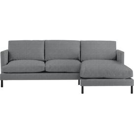 image-Yeomans Chaise Sleeper Corner Sofa Bed Mercury Row Upholstery Colour: Nickel, Orientation: Right Hand Facing