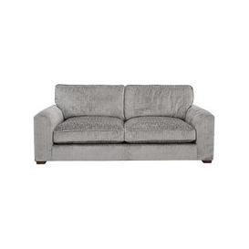 image-Sandbanks Classic Back Fabric 3 Seater Sofa