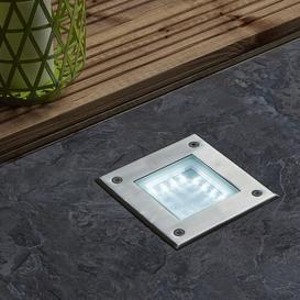 image-Recessed 16 Light LED Deck Light Symple Stuff Shade Colour: White