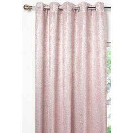 image-Sparkle Eyelet Lined Blockout Curtains