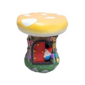 image-Magical Garden Gnome Stool Orange