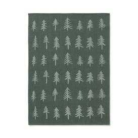 image-Christmas Tea towel - / 70 x 50 cm by Ferm Living Dark green