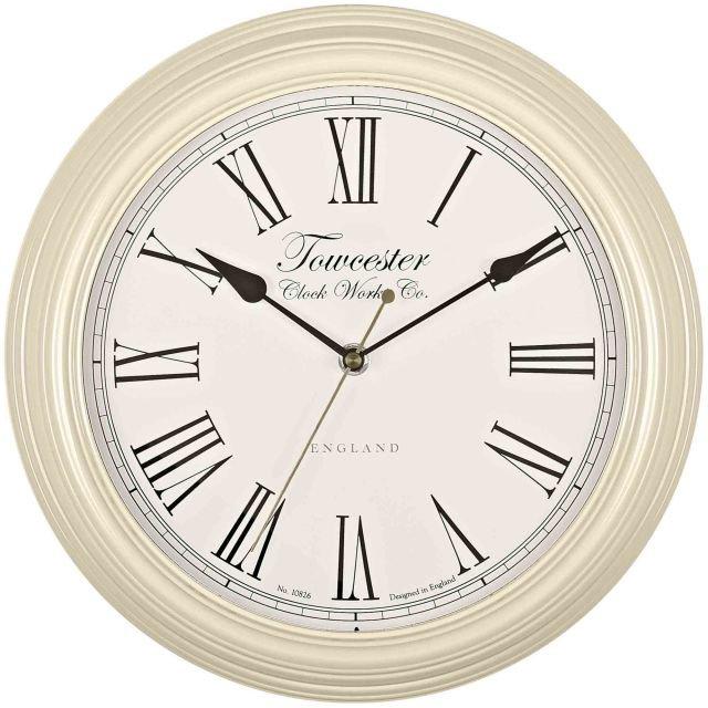 image-Redbourn Cream Wall Clock