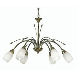 image-Bradwood 6-Light Shaded Chandelier ClassicLiving