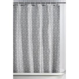 image-Geometric Shower Curtain