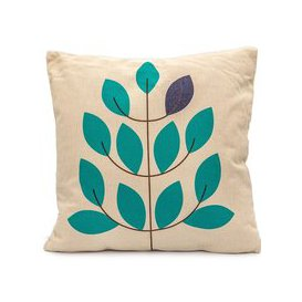 image-LeisureGrow Nordic Leaves Scatter Cushion