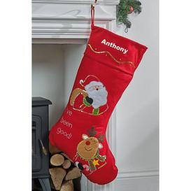 image-Personalised Giant Ive Been Good Stocking