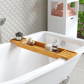 image-Colley Luxury Bridge Bath Rack Symple Stuff