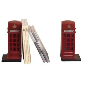 image-Set of 2 bookends Marlow Home Co.