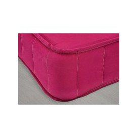 image-Little Village Single Coil Mattress - Open Coil - Pink